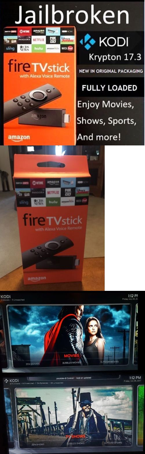 Internet and Media Streamers: Kodi 17.3 - Amazon Fire Tv Stick W Alexa Voice - 2Nd Gen Quad Core Kodi 17.3 -> BUY IT NOW ONLY: $66.99 on eBay!