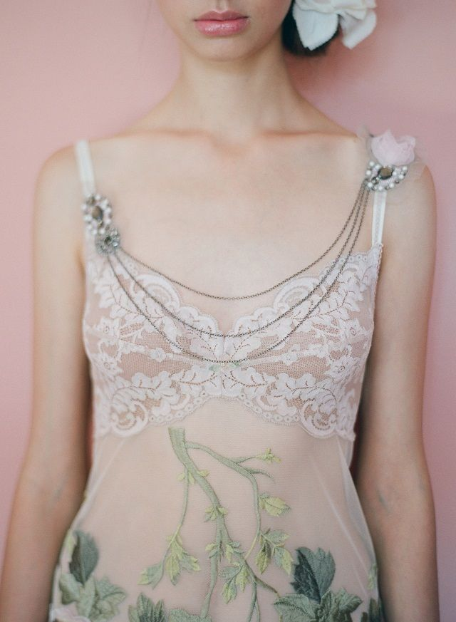 {PerfectlySTYLED} CLAIRE PETTIBONE (PART 2) ~ LUXURY LINGERIE - Photo by Elizabeth Messina