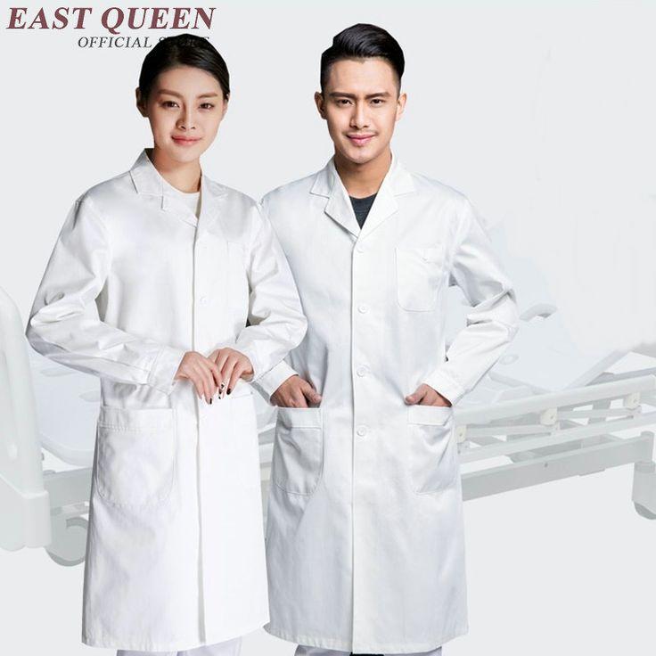 White lab coat women men lab supplies clothing white 2017 new medical uniforms female male medical suit  KK099