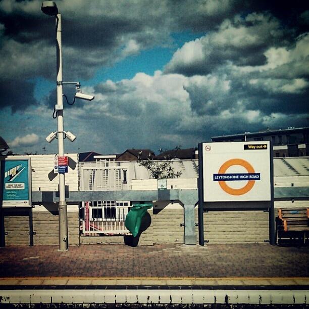 @levantisphoto   Vivid sky at #leytonstone high road station   Webstagram - the best Instagram viewer