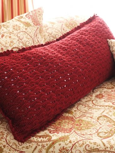 Scalloped Body Pillow | Yarn | Free Knitting Patterns | Crochet Patterns | Yarnspirations & 17 best Body pillow images on Pinterest | Body pillows Pillow ... pillowsntoast.com