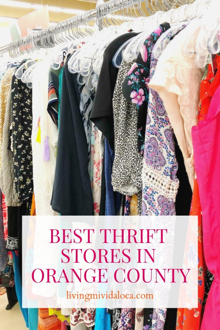Best Thrift Stores In Orange County Living Mi Vida Loca Thrifting Thrift Store Los Angeles Shopping