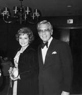 Betty White and husband Allen Ludden in 1974