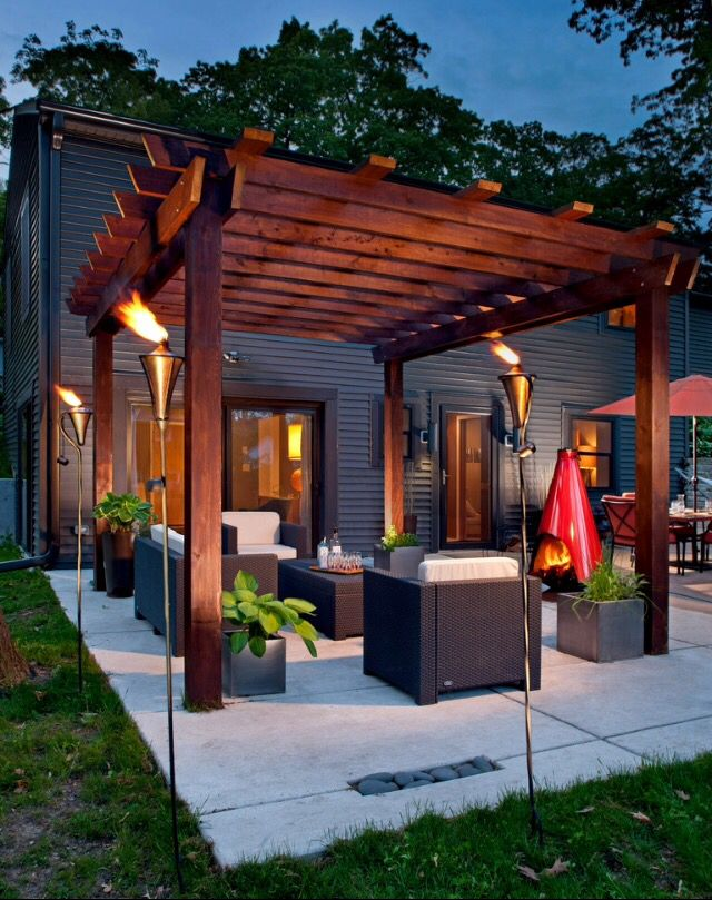 This is a great place host a gathering or outdoor dinner party.