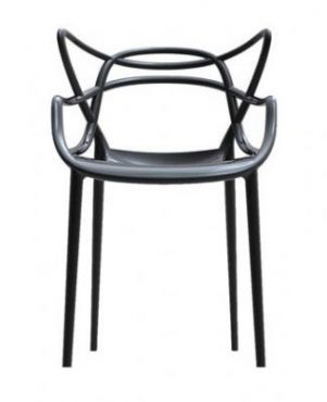 It surely takes balls to play with the renowned work of such icons Eero Saarinen, Charles and Ray Eames's, and Arne Jacobsen.    Masters Chair by Philippe Starck for Kartell
