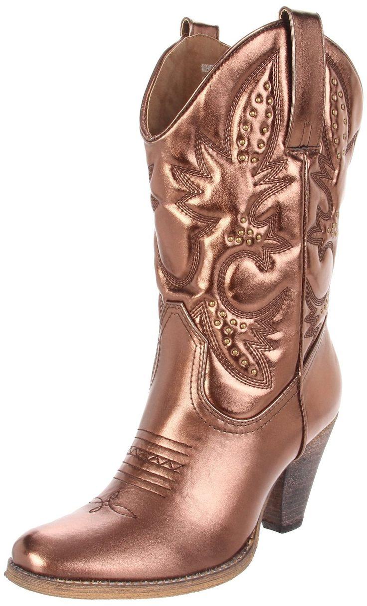 Best 25+ Metallic boots ideas on Pinterest | Metallic shoes ...