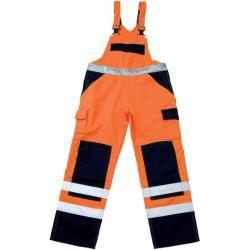Mascot® – Warnschutz-Latzhose Barras 07169-860, orange/grün, C46, 90Toolineo.d…