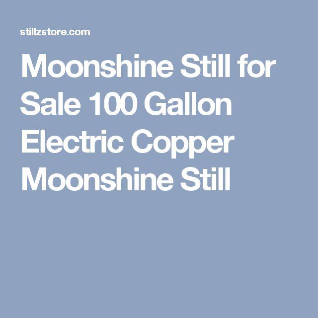 Moonshine Still for Sale 100 Gallon Electric Copper Moonshine Still
