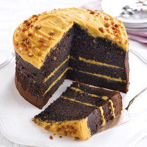 Fiona Cairns Chocolate Salted Caramel Cake