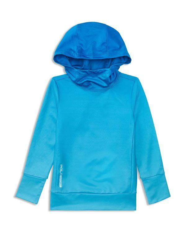 Ralph Lauren Childrenswear Girls' Funnel Neck Tech Hoodie - Sizes 2-6X