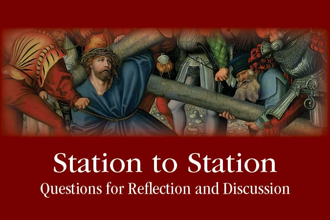 Gary Jansen writes about praying with the Stations of the Cross and offers free Station to Station discussion questions.