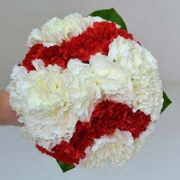baseball flower bouquet