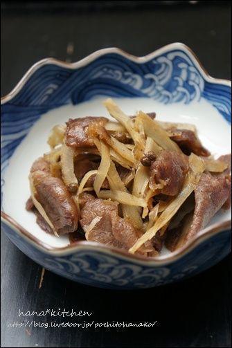 お弁当シーズン♪ 「牛肉とごぼうの当座煮のレシピ。」 by はなこさん ...