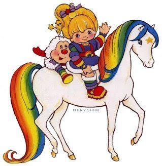 Rainbow Brite! MyTalesFromTheCrib: DIY Mama! No-Sew, Homemade Halloween Costumes