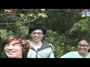 Daesung acting like chucky in Family Outing XD - YouTube