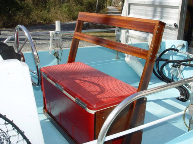 how to clean discolored boat seats