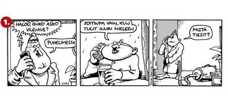 Helsingin Sanomat Fingerpori