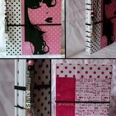 """Journal intime ou carnet de notes """"so girly"""""""