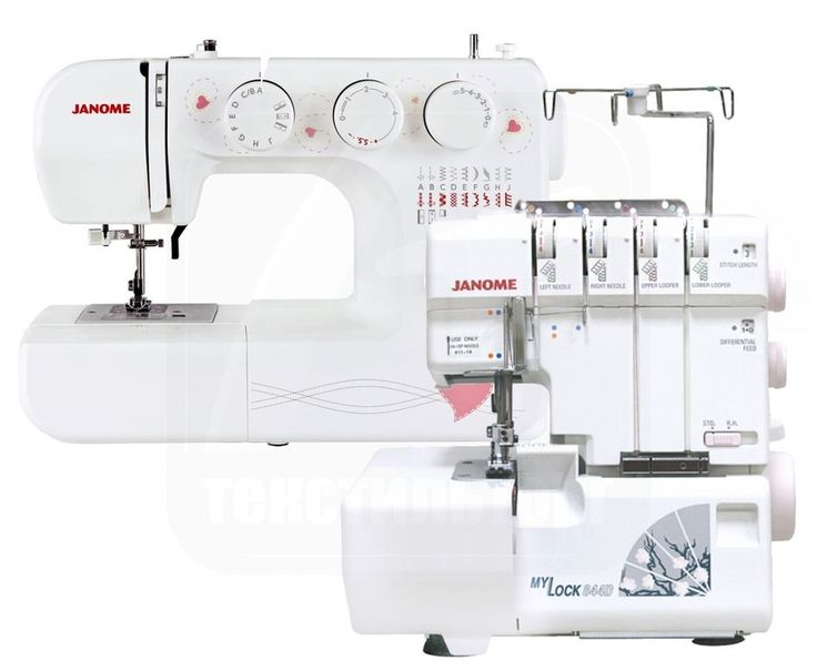 Подарочный набор Janome Норма - швейная машина Janome EQ 18 и оверлок Janome MyLock 844D. #текстильторг #рукоделие #шитьё #кройка #выкройка #шить #сшить #подарочный набор #швейнаямашина #оверлок