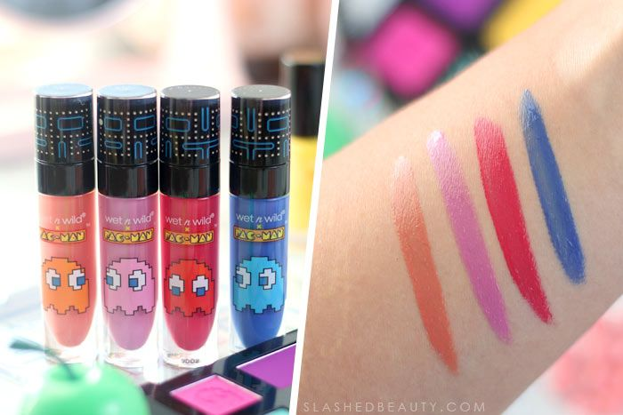 REVIEW/SWATCHES: wet n wild x Pacman Collection