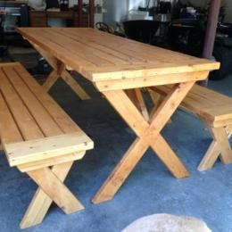 Workbench Plans Free DIY Furniture Plans To Build a PotteryBarn Inspired Chesapeake Picnic Bench...