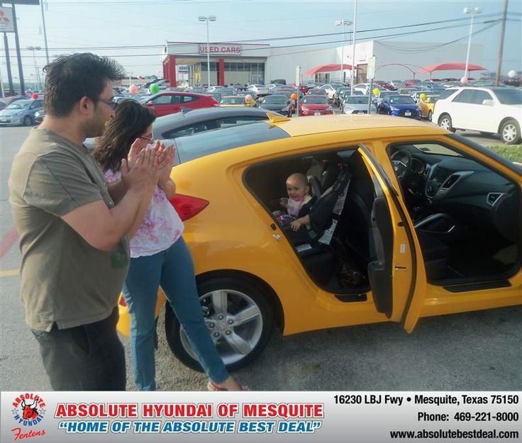 #HappyAnniversary to Rajesh Nejhavan on your 2013 #Hyundai #Veloster from Troy Cox  at Absolute Hyundai!