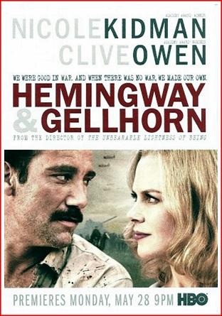 Nicole Kidman and Clive Owen in Hemingway and Gellhorn