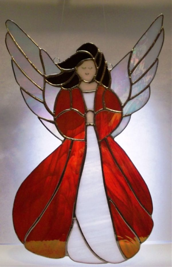 Red Stained Glass : Best images about stained glass on pinterest