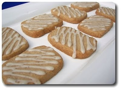 Vanilla-Chai Icebox Shortbread Cookies
