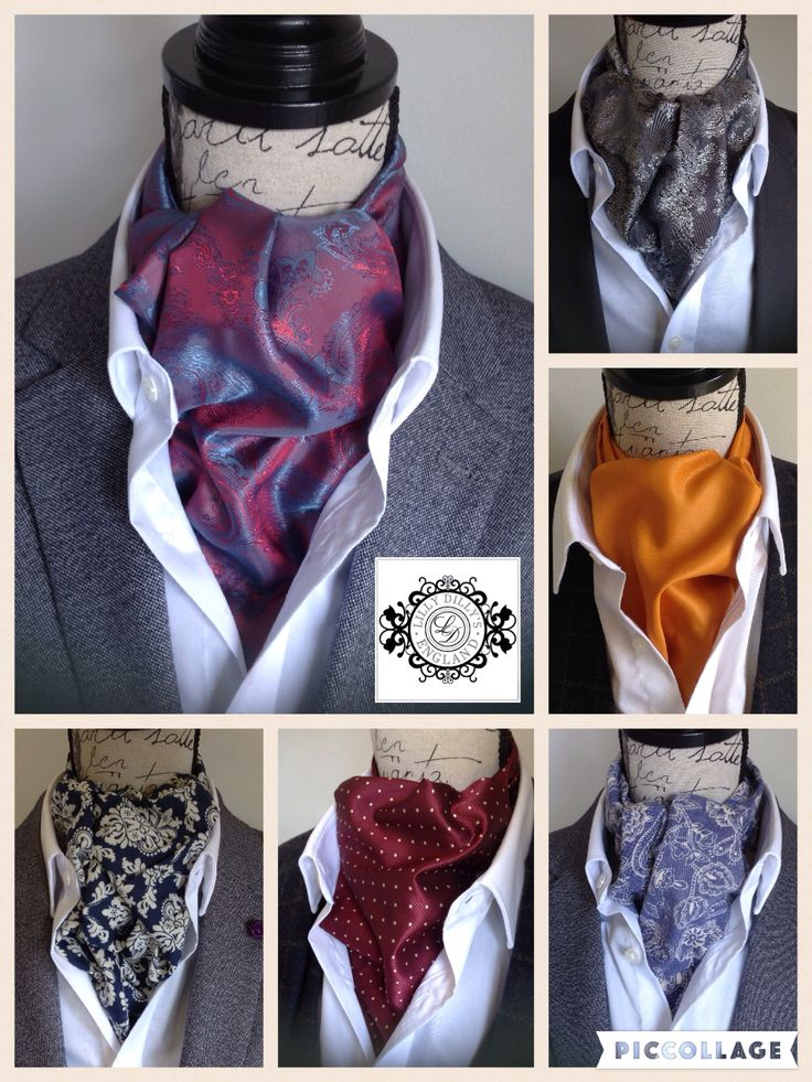 Handcrafted bespoke cravats from Lilly Dilly's. Made specifically to your choice of colour, pattern, fabric type and design.  #wedding #men #groom #ushers #cravat #bespoke #handcrafted #unique #couture #silk #dupion #paisley #floral #spotted #special #Lilly Dilly's