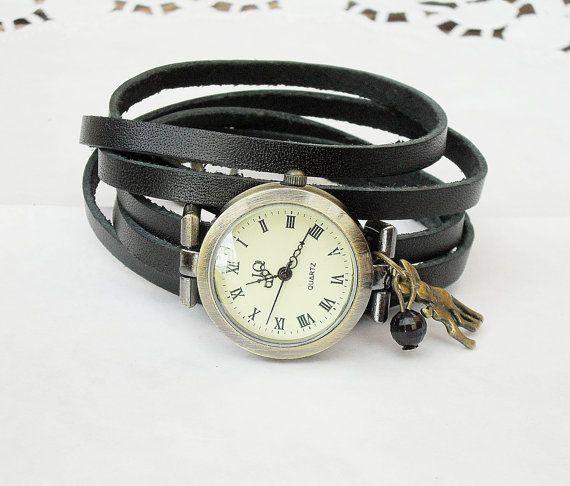 Romantique montre Bracelet montre de bobinage pour par TankGirlShop, €26.90