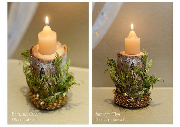 "Baiciurina Olga's Design Room: Публикация в журнале ""Время Ремонта""-Hand made Christmas decoration/"