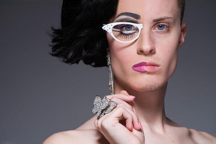 Magnolia Applebottom    Leland Bobbe's amazing beautiful Half Drag Photos.