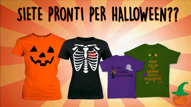 #HALLOWEEN #TSHIRT PERSONALIZZATE
