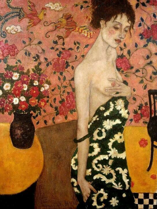Gustav Klimt. See the Virtual Artist gallery: www.theartistobjective.com/gallery/index.html
