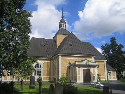 Jakobstad Church is a Lutheran church in the city of Jakobstad, Finland.