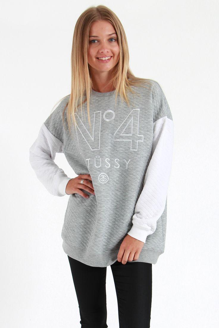 Stussy Quilt No.4 Fleece #2 - Sweatshirts and Crews | North Beach