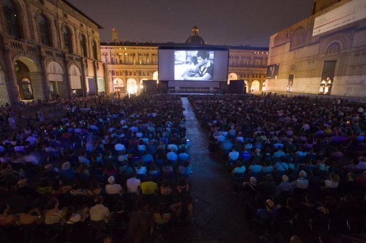 Sotto Le Stelle Del Cinema in Bologna, Italy is a great summertime event for open-air cinema.