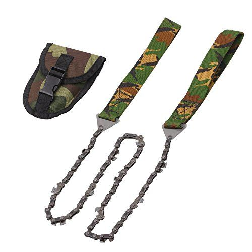 Camping Pocket Wire Saw Hand Chainsaw Outdoor Camping Survival Tool Camo
