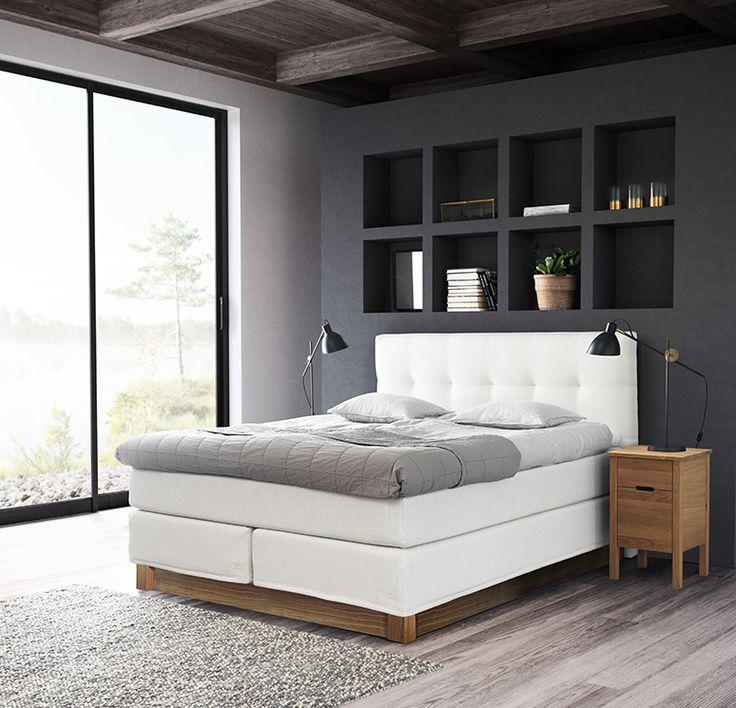 Jensen Prestige Continental bed, Nature www.gasse.eu