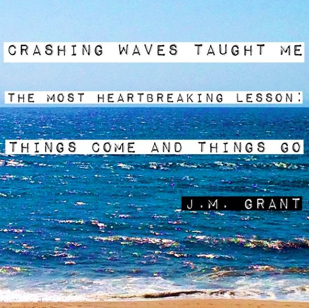 Waves Quotes: 27 Best Images About J.M. Grant On Pinterest