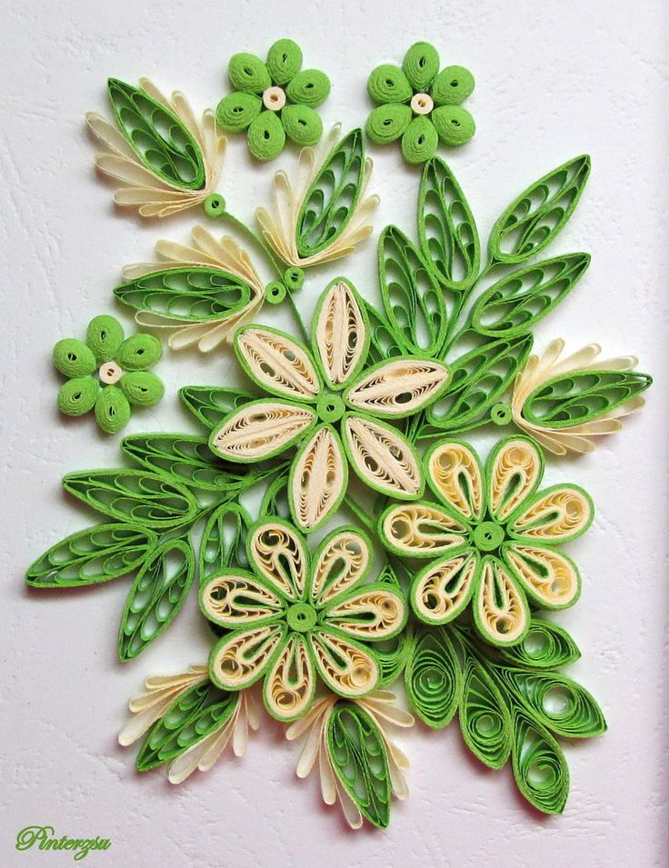 1384 best images about quilling flowers on pinterest for Quilling designs
