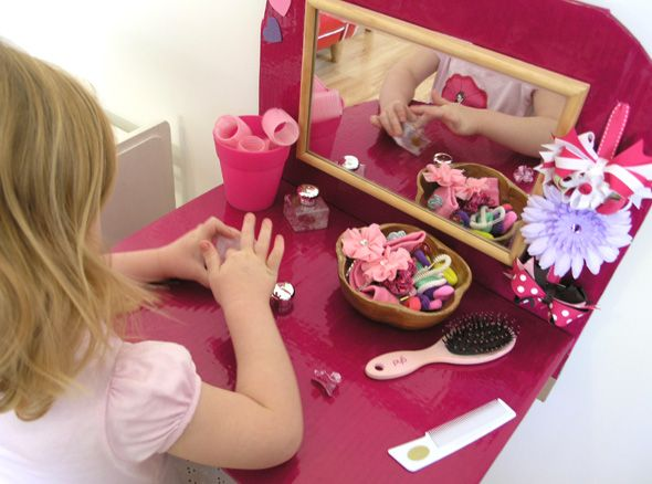 Play time dressing table