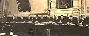 Il Governo provvisorio 1917 a palazzo Mariinskij
