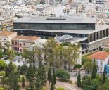 The New Acropolis Museum during the day