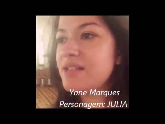 Sinfonia da Morte - Convite da Atriz Yane Marques