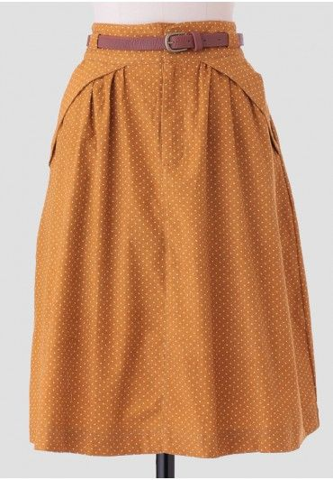 Bramble Lane Corduroy Skirt