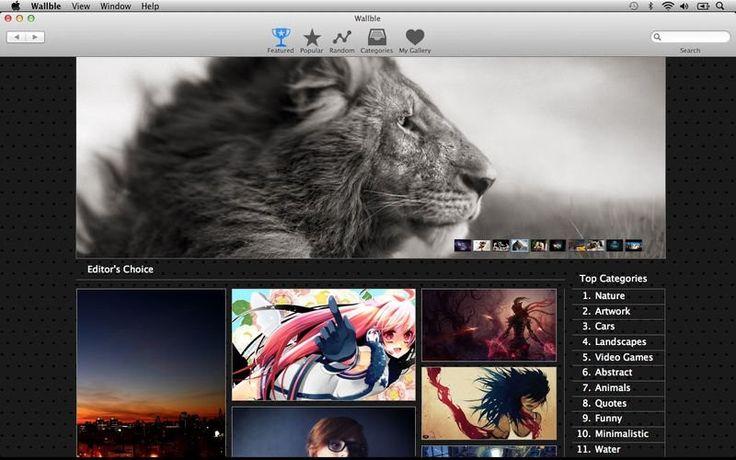 Wallble – HD Wallpapers for Desktop 1.3.8 for Mac 破解版 – 精美壁纸查找 | Digit77.com | 海量精品Mac应用下载 | 高质量3D模型商店