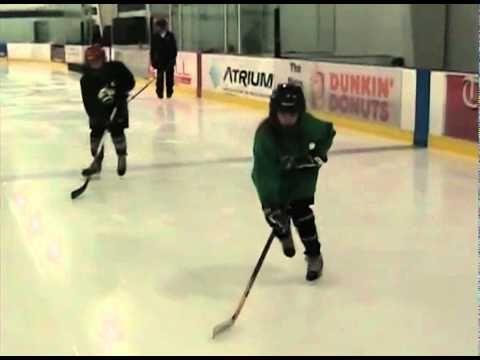 Hockey Stopping Drills - YouTube