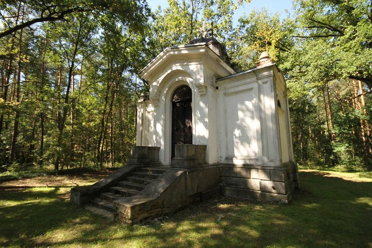 The beautiful renovated orthodox tomb chapel (Cerkiewka) was built in 1885…